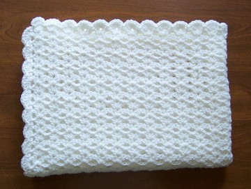Free Crochet Double V Stitch Afghan Pattern
