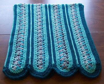Crochet Stitches Mile A Minute : Mile a Minute Afghan - Free Crochet Pattern + Video Tutorial