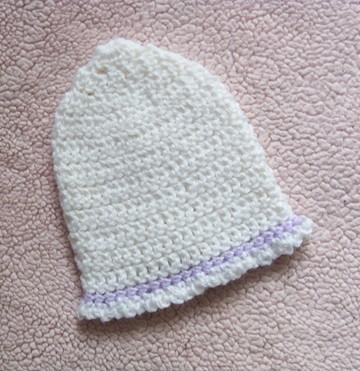 Free Easy Crochet Newborn Baby Hat Pattern