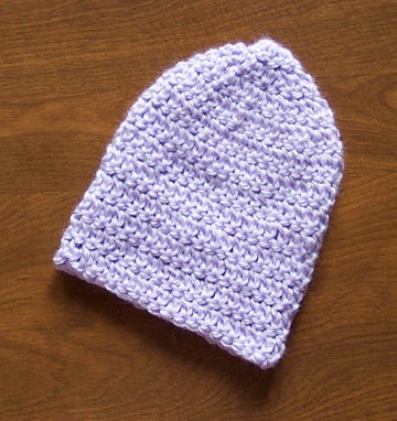 Free Easy Crochet Newborn Baby Hat Pattern