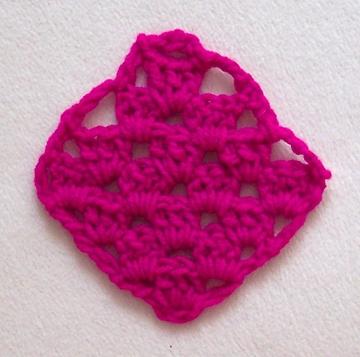 Free Diagonal Granny Square Pattern